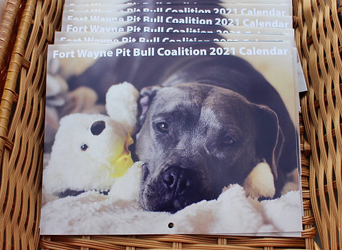 2021 Pitbull Coalition Calendar