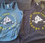 Be Their Voice Summer Tanks