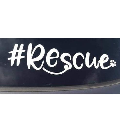 #Rescue  sticker