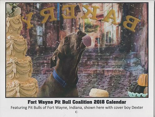 2018 Pitbull Coalition Calendar