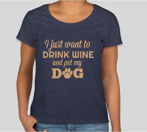 Drink Wine Tee