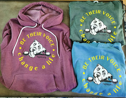 Be Their Voice Unisex Pullover Hoodie