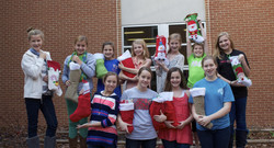 Pizitz Middle School Girls!