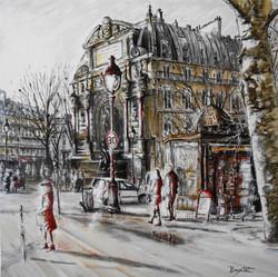 La fontaine Saint-Michel - Paris
