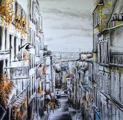 Rue Tholozé - Montmartre