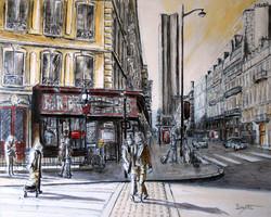 Au métro Saint-Placide - Paris