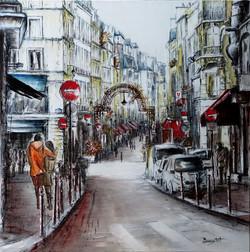 Rue Montorgueil. Paris