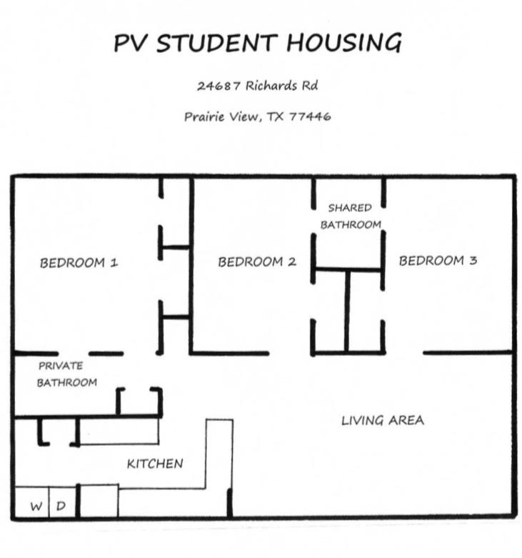 PV Student Housing Layout Image