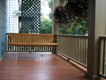 deck wood staining exterior porch patio exterior paint contractor in philadelphia