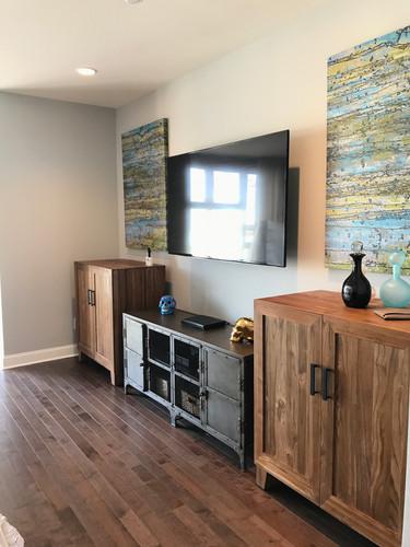 living room interior walls painting paint contractor in philadelphia