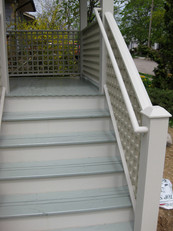stairs painting exterior staining wood finish paint contractor painters in philadelphia