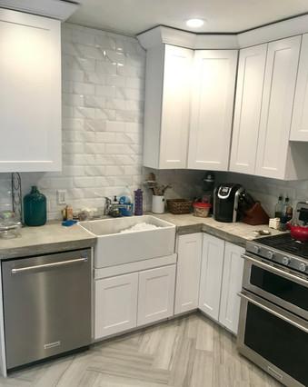 interior kitchen painting walls cabinets philadelphia pennsylvania painting contractor