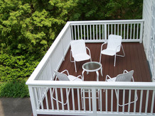 exterior patio deck staining wood finish painting contractor painter in philadelphia