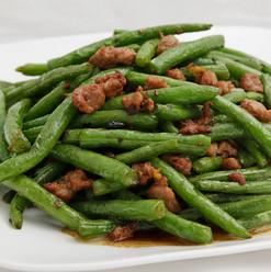 Stir Fried Green Beans with Minced Pork