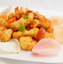 Spicy Tiger Shrimp and Squid