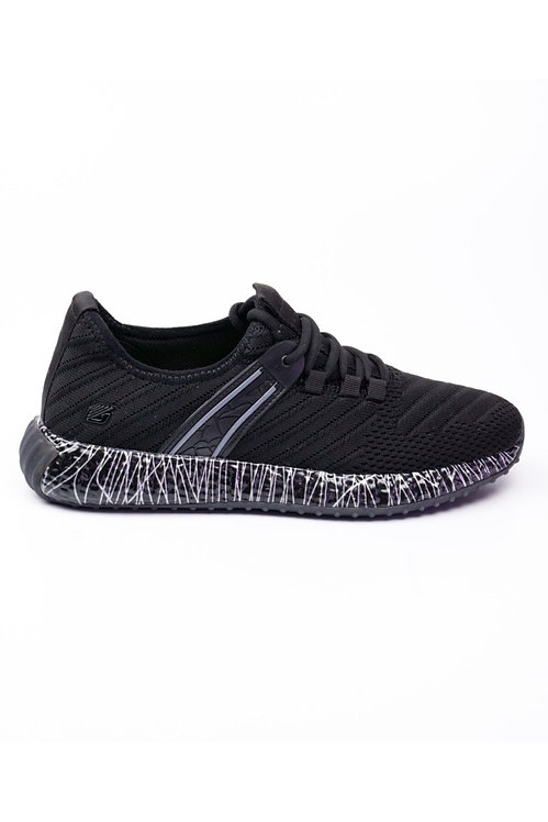 Greyder Erkek Siyah Gri Sneaker