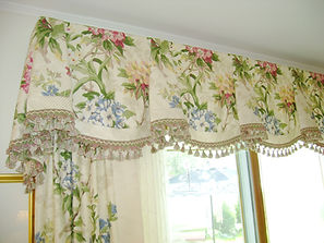 REGAL VALANCE (SHOWN WITH BANDING & TRIM)
