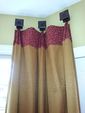 THREE PLEAT DRAPES
