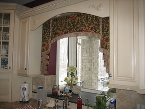 ARCHED VALANCE (SHOWN WITH SIDE JABOTS)