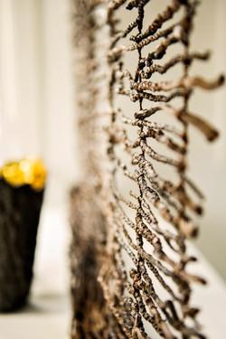 Coconut twig screen