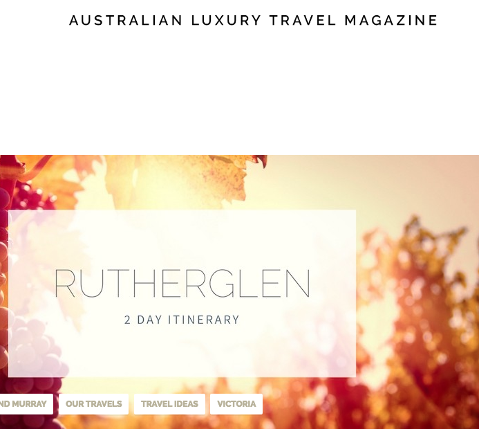 Luxury Australian Travel Magazine
