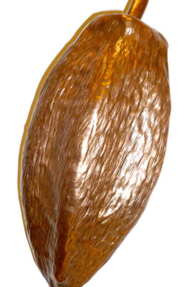 Hand made Cocoa Pod Sculpture