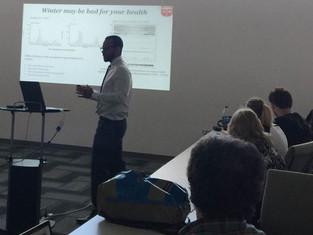Kamau defends his PhD !