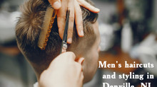 Men's haircuts and styling in Denville, NJ