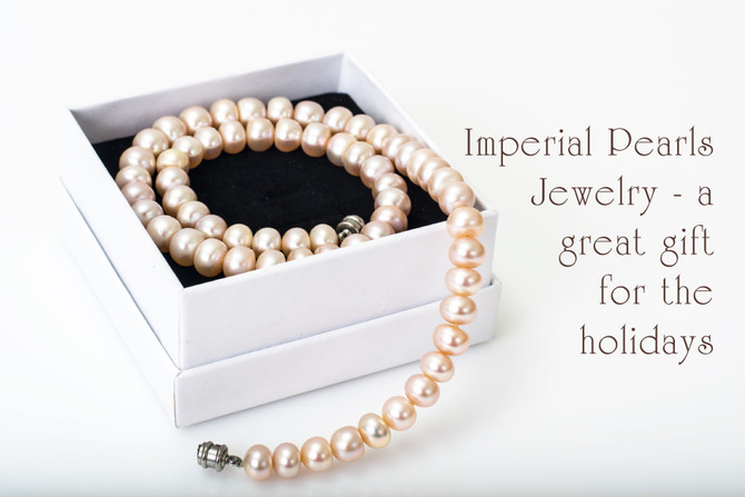 Imperial Pearls Jewelry - a great gift for the holidays