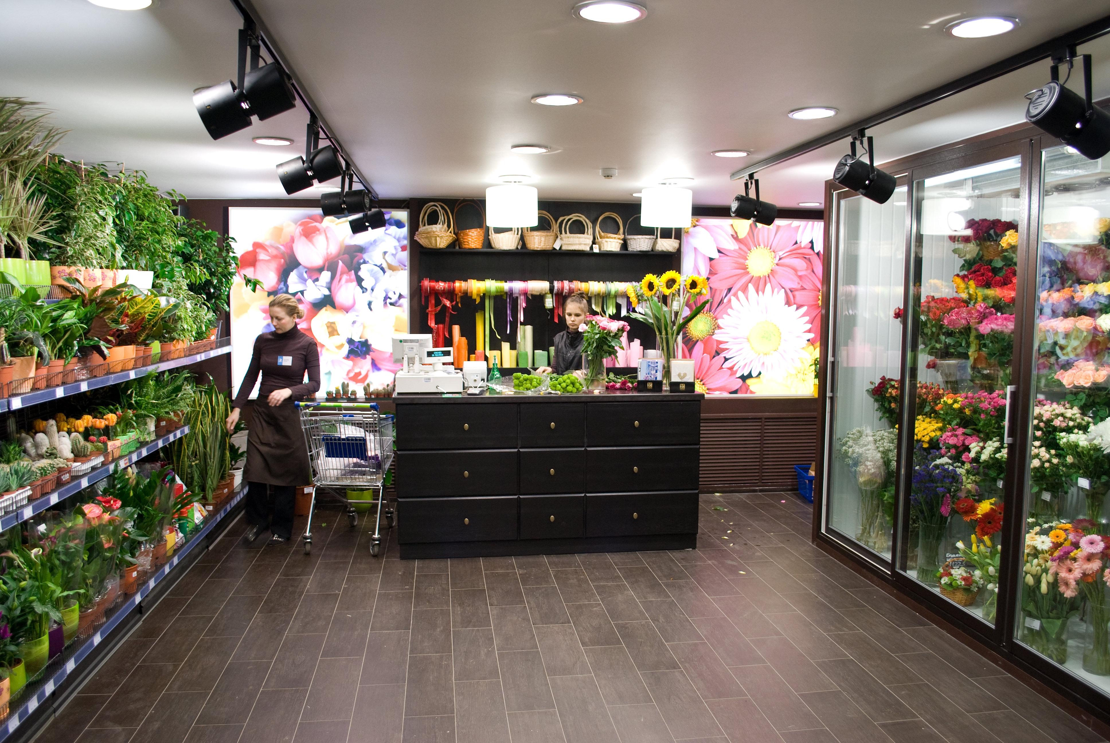 Букет, найти название магазина цветов