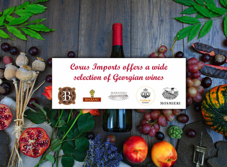 Corus import offers to your attention a wide selection of Georgian wines