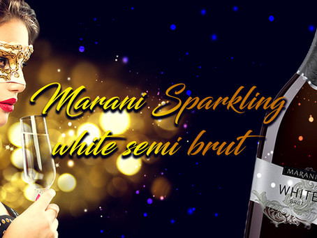 Marani Sparkling white semi brut