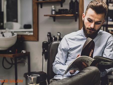 Our stylists offer a large selection of hairstyles for men