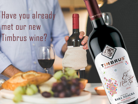 Have you already met our new Timbrus wine?