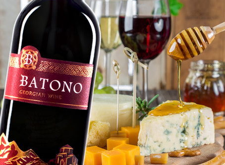 Batono wine - goes well with cheese and honey