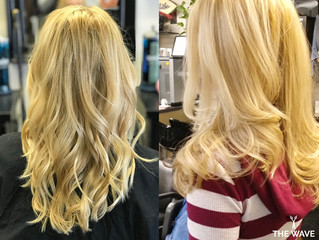 SHOWCASING BLOND WAVES MADE BY OUR STYLISTS
