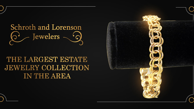 THE LARGEST ESTATE JEWELRY COLLECTION IN THE AREA