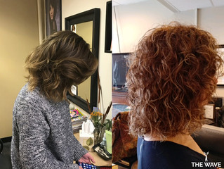 SHOWCASING THE BRUNETTE WAVES BY THE WAVE HAIR SALON STYLISTS