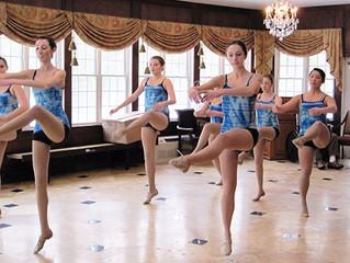 Dancing works to cheer audiences