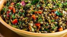 Lentil Salad with Red Wine Vinaigrette