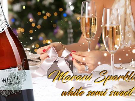 Marani Sparkling white semi sweet