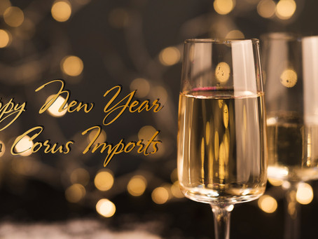 Happy New Year from Corus Imports