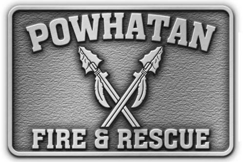 Powhatan County Belt Buckle