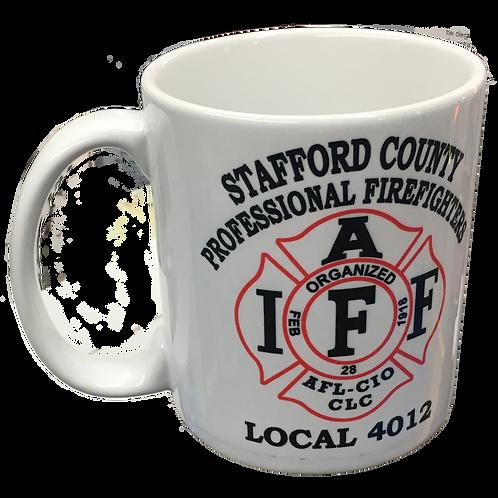 Stafford Union Local 4012 Coffee Cup