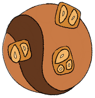 FUDGE   CHOCO    CARAMEL   PEANUTS