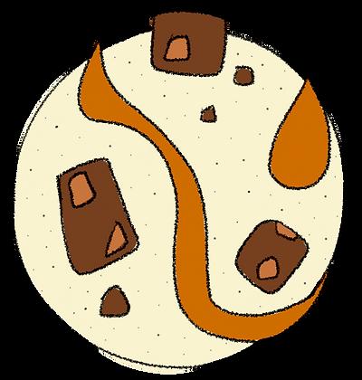 VANILLA   CARAMEL BROWNIES
