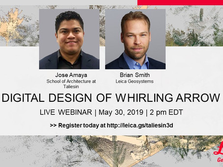 Webinar - How Reality Capture at the School of Architecture at Taliesin Impacts Building Documentati
