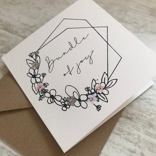 Bundle of Joy Card - Girl