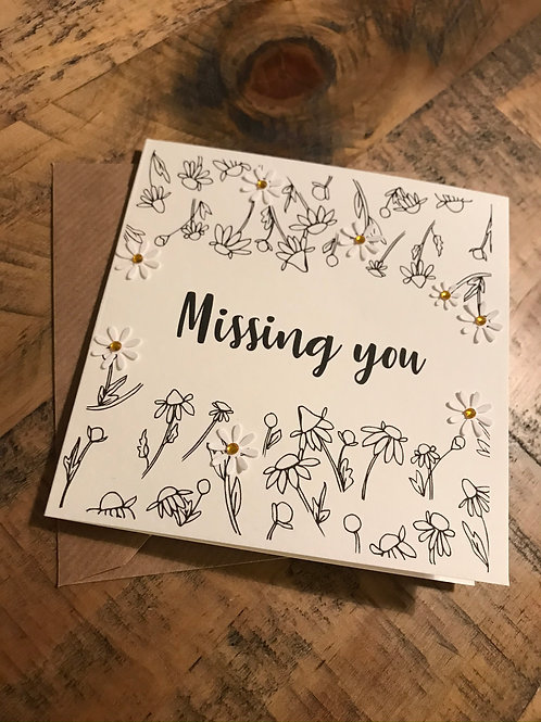 'Missing You' Card