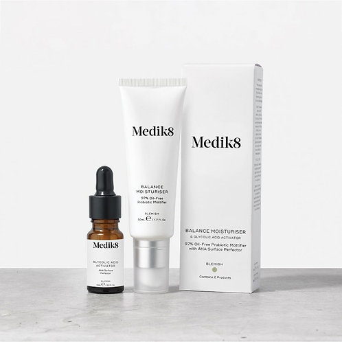 Medik8 Balance Moisturiser™ & Glycolic Acid Activator